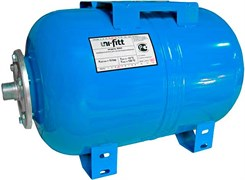 Гидроаккумулятор Uni-Fitt, горизонтальный, 24 л (WAO24-U)