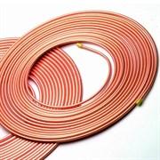 """Труба медная для кондиционеров 1/4"""" (6,35х0,6) HLG ASTM В68, бухта 15 м"""