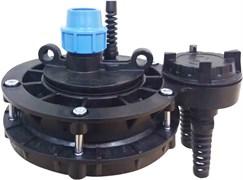 Оголовок для скважины Джилекс из пластика с базовой частью ОСПБ 110-130/25
