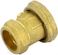 """Резьбовое соединение Watts для циркуляционного насоса, с шаровым краном, 1 1/2"""" х 28 мм цанга, под медь"""