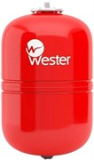 Расширительный бак Wester для отопления со сменной мембраной 24 л