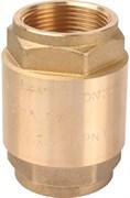 """Клапан обратный пружинный Stout с металлическим седлом 1 1/4"""""""