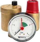 Группа безопасности котла Watts KSG 30N компактная, латунь, до 50 кВт