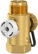 """Присоединительный вентиль Flamco Airfixcontrol 3/4"""" Нр для расширительного бака"""