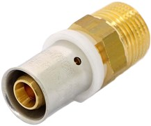 """Муфта НР пресс для мeталлопластиковых труб Uni-Fitt 16 x 1/2"""""""