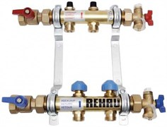 Распределительный коллектор для отопления REHAU HKV-6, art.250667-002