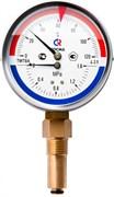 """Термоманометр радиальный Росма (ТМТБ-31P.1) 1/2"""", 0.6 МПа, 80 мм, 120°C, L=46 мм, кл. 2.5, арт.00000002329"""