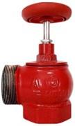 Клапан пожарный чугун угловой 90 гр Апогей КПКМ 65-1 Ду 65 1,6 МПа муфта-цапка