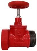 Клапан пожарный чугун прямой Апогей КПКП 50-1 Ду 50 1,6 МПа муфта-цапка