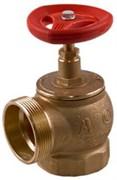 Клапан пожарный латунь угловой 90 гр Апогей КПЛМ 65-1 Ду 65 1,6 МПа муфта-цапка