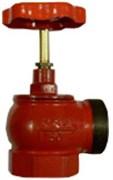 Клапан пожарный чугун угловой 90 гр Апогей КПЧМ 65-1 Ду 65 1,6 МПа муфта-цапка с датчиком положения ДППК 27