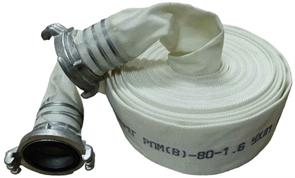 Рукав пожарный Берег Стандарт 65 мм РПМ(В)-65-1,6-УХЛ1 в комплекте головка и ствол ГР-65А и РС-70,01А 20+-1 м
