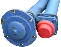 Гидрант пожарный подземный чугун синий ГИДРОПРОМ-СПБ Ру10 2500 мм