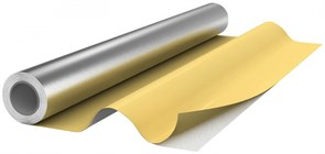 Рулон теплоизоляционный Energoflex Energopack TK с покрытием алюминиевая фольга 1000Х25