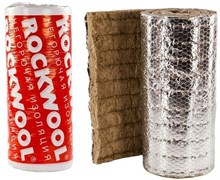 Рулон минеральная вата ROCKWOOL WIRED MAT 80 ALU 60х1000-4