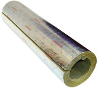 Цилиндр навивной минеральная вата ROCKWOOL 100 кашированный фольгой 30/35 L=1м
